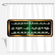 Valve Radio Screen Shower Curtain