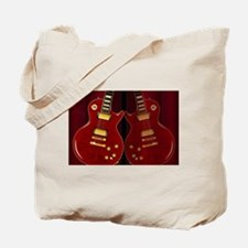 Classic Guitar Reflections Tote Bag