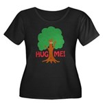 Earth Day : Tree Hugger, Hug me! Women's Plus Size