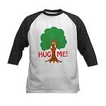 Earth Day : Tree Hugger, Hug me! Kids Baseball Jer