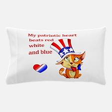 My Patriotic Heart Pillow Case