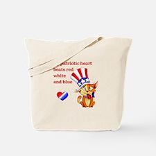 My Patriotic Heart- Tote Bag