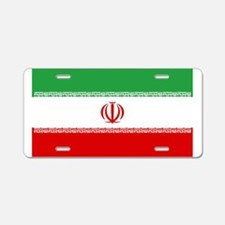Iranian National Flag Aluminum License Plate