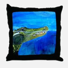 Cool Crocodiles Throw Pillow