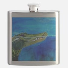 Unique Gator Flask