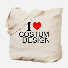 I Love Costume Design Tote Bag