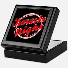 Karaoke Night Florescent Light Keepsake Box