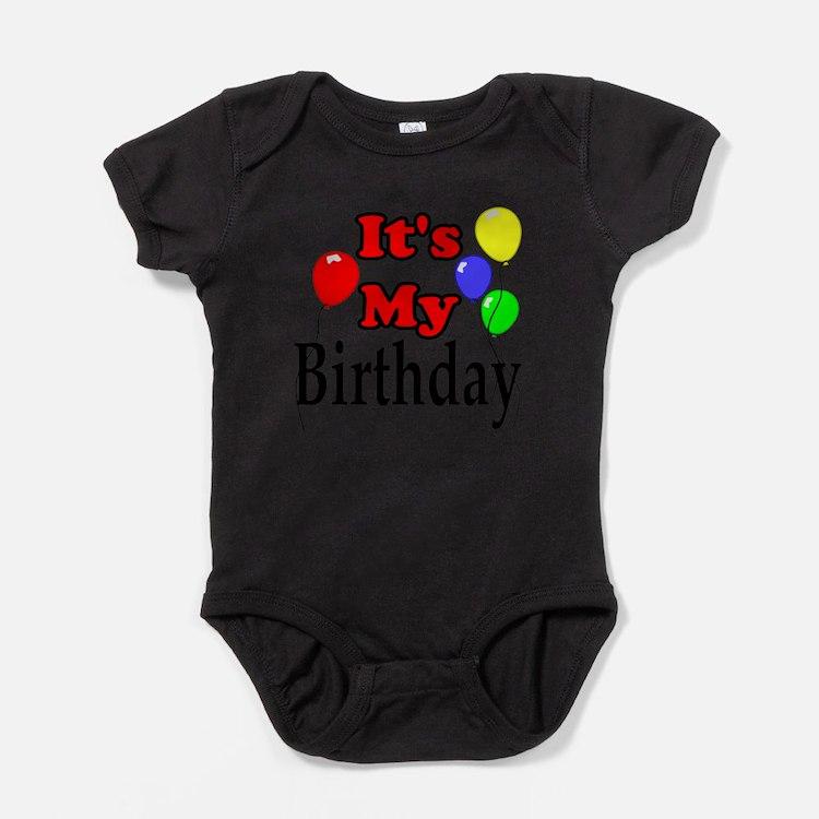 Cute Birthday celebration Baby Bodysuit
