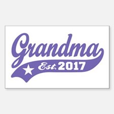 Grandma Est. 2017 Decal