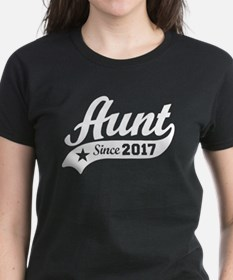 Aunt Since 2017 Tee