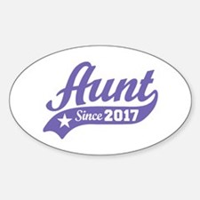 Aunt Since 2017 Stickers