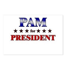 PAM for president Postcards (Package of 8)