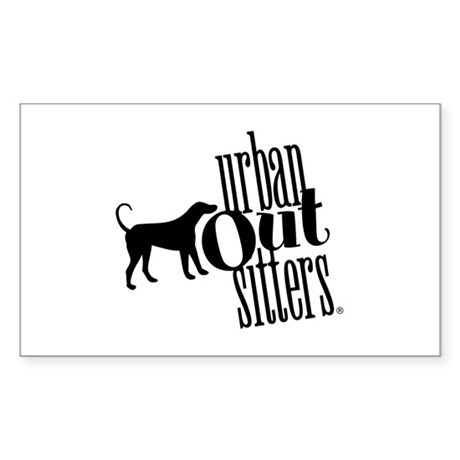 Urban Logo Store Rectangle Sticker