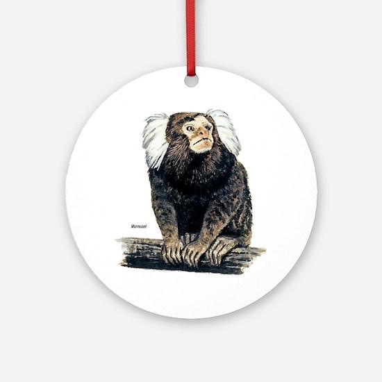 Marmoset Monkey Keepsake (Round)