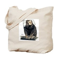 Marmoset Monkey Tote Bag