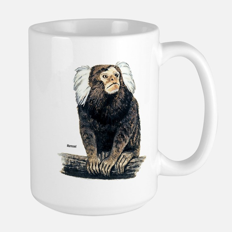 Marmoset Monkey Ceramic Mugs