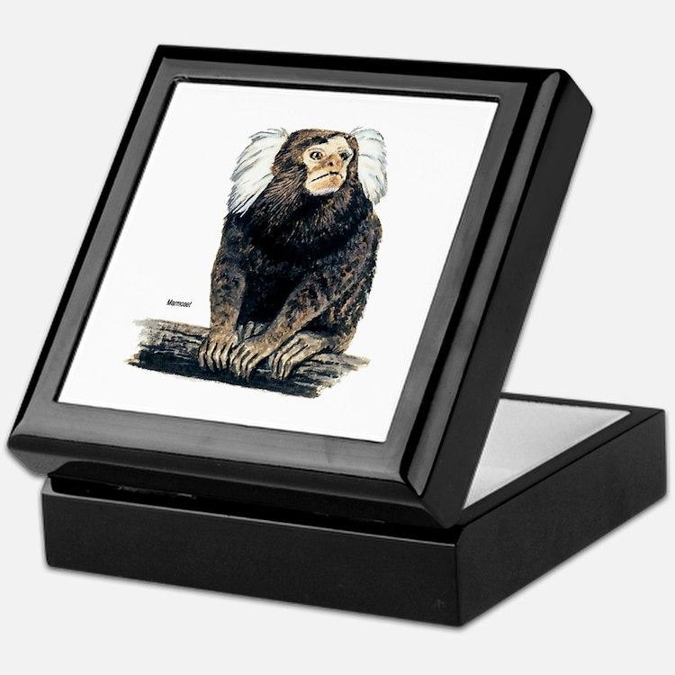 Marmoset Monkey Keepsake Box