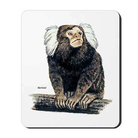 Marmoset Monkey Mousepad