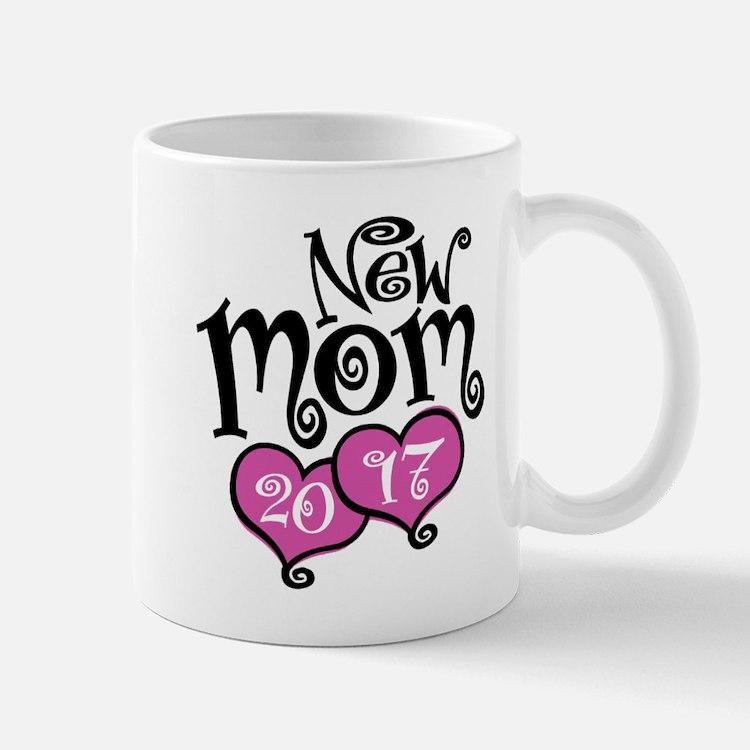 New Mom 2017 Small Small Mug