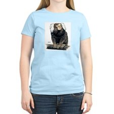 Marmoset Monkey Women's Pink T-Shirt