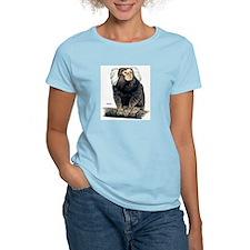 Marmoset Monkey (Front) Women's Pink T-Shirt