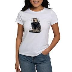 Marmoset Monkey (Front) Women's T-Shirt