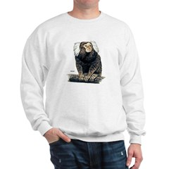 Marmoset Monkey (Front) Sweatshirt