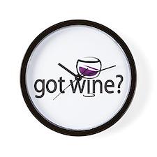 got wine? Wall Clock