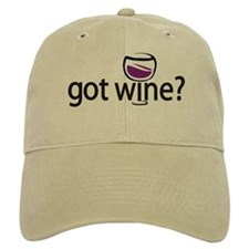 got wine? Baseball Cap