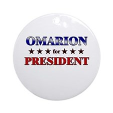 OMARION for president Ornament (Round)
