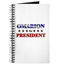OMARION for president Journal