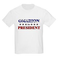 OMARION for president T-Shirt