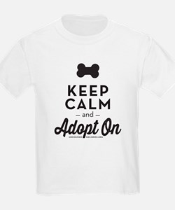 Keep Calm and Adopt On T-Shirt
