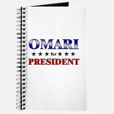 OMARI for president Journal