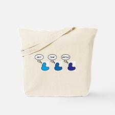 Three confused ducks Tote Bag