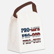 Unique Patriot Canvas Lunch Bag
