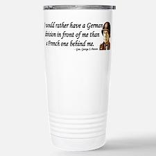 Cool Patton quote Travel Mug