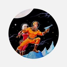 "FROZEN WORLD 3.5"" Button (100 pack)"