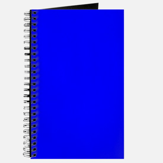 Simply Blue Solid Color Journal