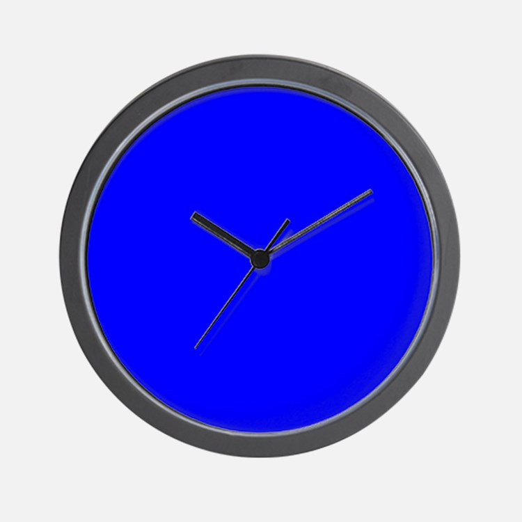cobalt blue clocks cobalt blue wall clocks large