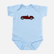 MGTF Burgundy Infant Bodysuit