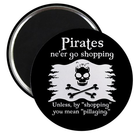 Pirates on Shopping Magnet