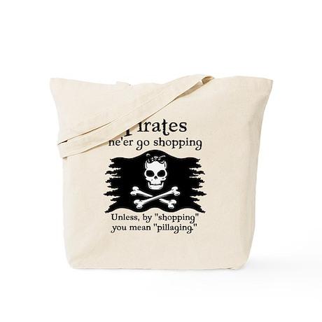 Pirates on Shopping Tote Bag