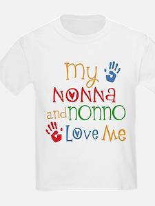 Nonna and Nonno Love Me T-Shirt
