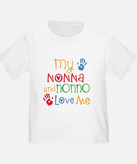 Nonna and Nonno Love Me T-Shirt