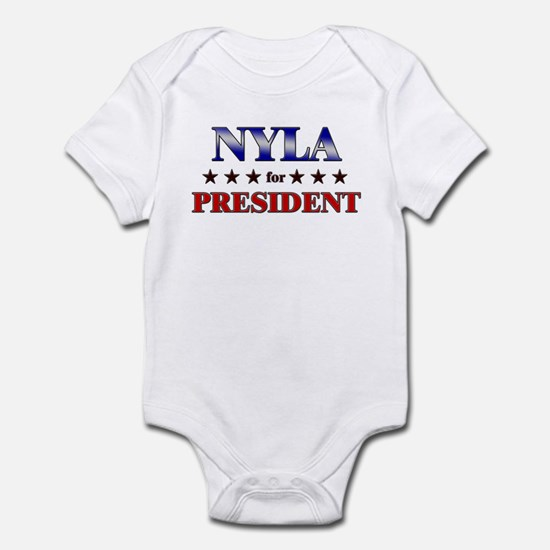 NYLA for president Infant Bodysuit