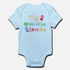 Oma and Opa Love Me Body Suit