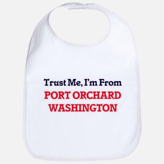 Trust Me, I'm from Port Orchard Washington Bib