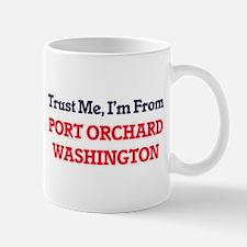 Trust Me, I'm from Port Orchard Washington Mugs