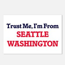 Trust Me, I'm from Seattl Postcards (Package of 8)